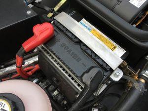 ケータハムセブン160のバッテリ