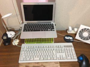 リアルフォースキーボード設置